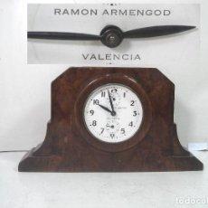 Relojes de carga manual: PRECIOSO RELOJ SOBREMESA - RAMON ARMENGOD -VALENCIA-FABRICADO EN ESPAÑA-CUERDA ALARMA ¡FUNCIONANDO¡. Lote 211513404