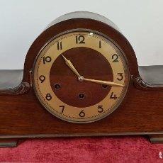 Relojes de carga manual: RELOJ DE SOBREMESA. JORDÁ. MUEBLE DE MADERA. ESTILO ART DECÓ. SIGLO XX.. Lote 211980365