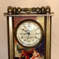 Relojes de carga manual: RELOJ DE VIAJE O DE CARRUAJE. Lote 212216403