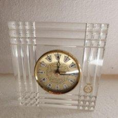 Relojes de carga manual: RELOJ DE METACRILATO. Lote 212434472