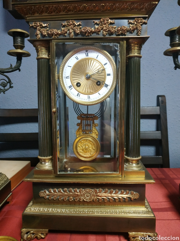 Relojes de carga manual: Reloj portico imperio - Foto 2 - 213351458