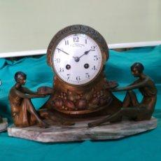 Relojes de carga manual: RELOJ FRANCES ANTIGUO. Lote 213622230