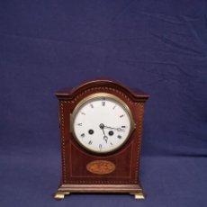 Relojes de carga manual: RELOJ INGLES DE CAOBA. Lote 213716821