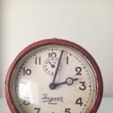 Relojes de carga manual: RELOJ DESPERTADOR DE SOBREMESA JAGUAR SWISS MADE MECANICO. Lote 213790365