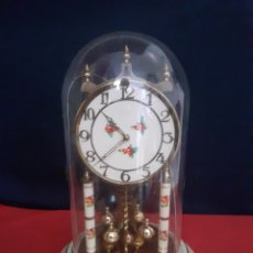 Relojes de carga manual: ANTIGUO RELOJ SOBREMESA MECANICO ALEMAN DE CUERDA AÑOS 40 _50 MARCA KUNDO. Lote 213874805
