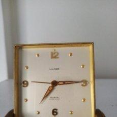 Relojes de carga manual: RELOJ DE SOBREMESA SWISS MADE LUXOR 8 DAYS. Lote 214043596