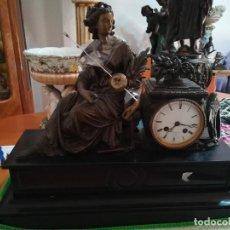 Relojes de carga manual: RELOJ SOBEMESA FRANCES SXIX. Lote 214775508