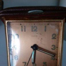Relojes de carga manual: RELOJ DESPERTADOR DE VIAJE DE SOBREMESA ORIS SWISS MADE MECANICO. Lote 216595806
