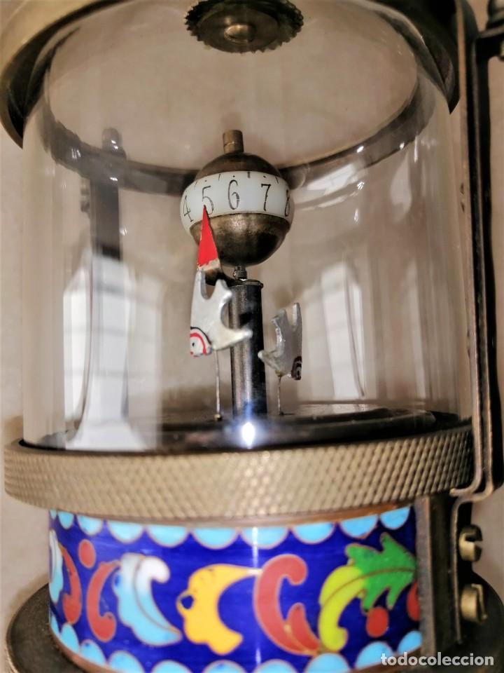 Relojes de carga manual: RELOJ PIVOTANTE CON ESMALTE CLOISONNÉ - Foto 3 - 216757427