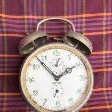 Relojes de carga manual: RELOJ PETER, DESPERTADOR SOBREMESA ANTIGUA, GERMANY. FUNCIONA. Lote 217166622