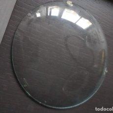 Relojes de carga manual: CRISTAL RELOJ SOBTREMESA ANTIGUO DE CÓNCAVO MEDIDA 12,7 CM DIÁMETRO. Lote 217733526