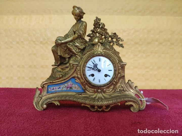 RELOJ DE SOBREMESA ESTILO NAPOLEÓN III- 1850-1870, 6000-147 (Relojes - Sobremesa Carga Manual)
