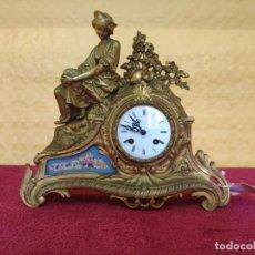 Relojes de carga manual: RELOJ DE SOBREMESA ESTILO NAPOLEÓN III- 1850-1870, 6000-147. Lote 43451443