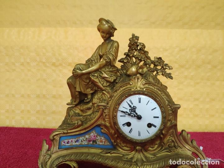 Relojes de carga manual: RELOJ DE SOBREMESA ESTILO NAPOLEÓN III- 1850-1870, 6000-147 - Foto 2 - 43451443