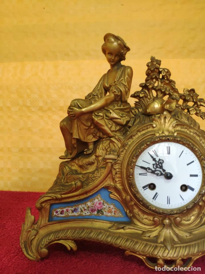 Relojes de carga manual: RELOJ DE SOBREMESA ESTILO NAPOLEÓN III- 1850-1870, 6000-147 - Foto 3 - 43451443