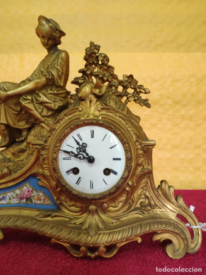 Relojes de carga manual: RELOJ DE SOBREMESA ESTILO NAPOLEÓN III- 1850-1870, 6000-147 - Foto 4 - 43451443