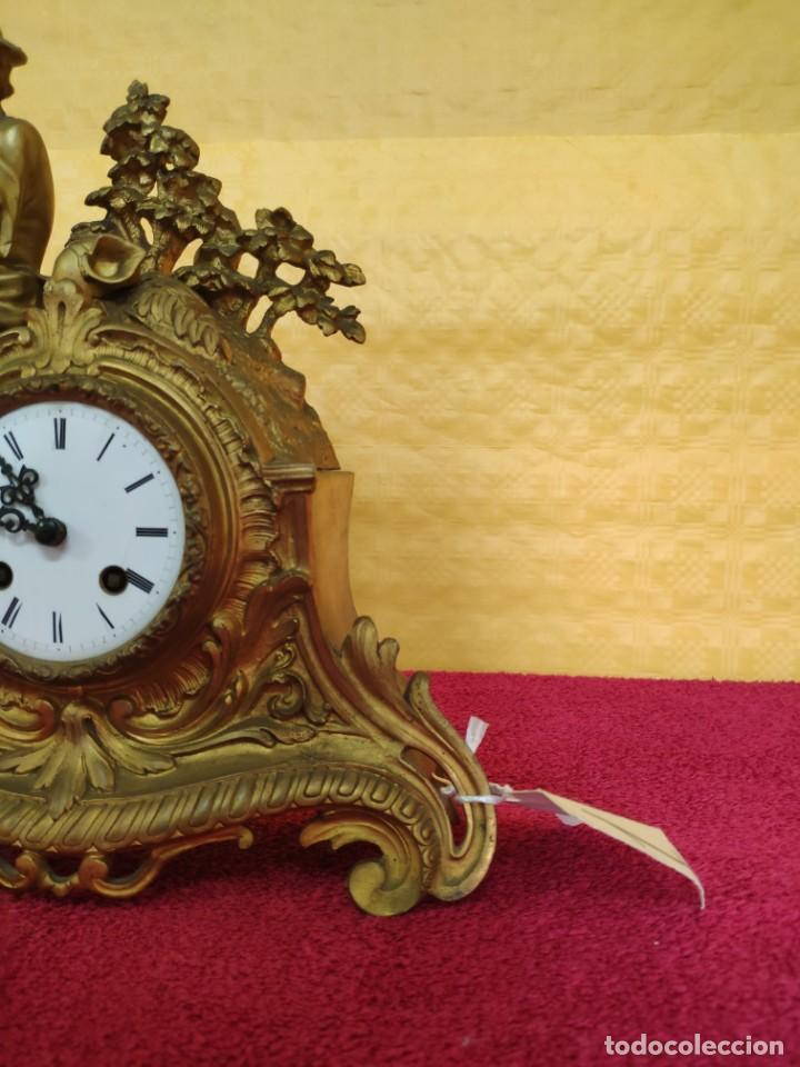 Relojes de carga manual: RELOJ DE SOBREMESA ESTILO NAPOLEÓN III- 1850-1870, 6000-147 - Foto 5 - 43451443