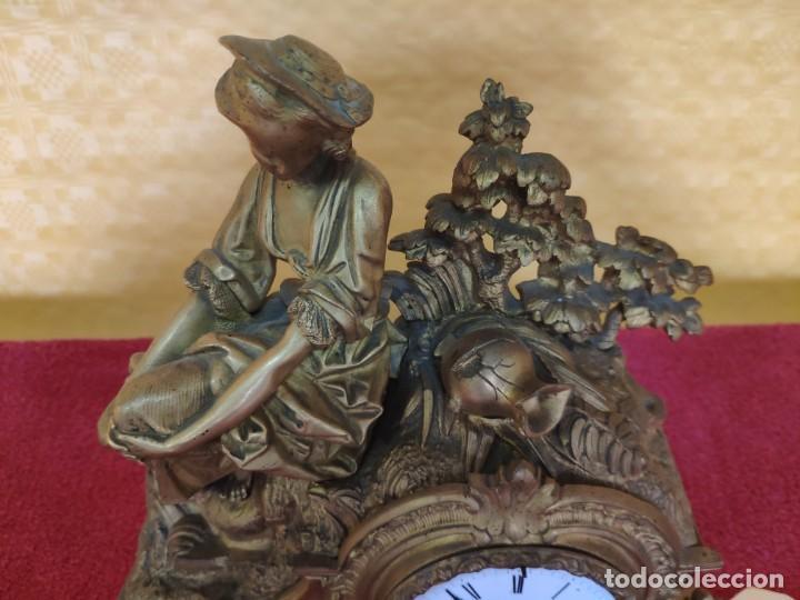 Relojes de carga manual: RELOJ DE SOBREMESA ESTILO NAPOLEÓN III- 1850-1870, 6000-147 - Foto 6 - 43451443