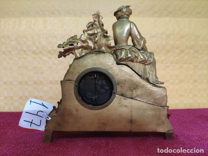 Relojes de carga manual: RELOJ DE SOBREMESA ESTILO NAPOLEÓN III- 1850-1870, 6000-147 - Foto 10 - 43451443