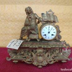 Relojes de carga manual: RELOJ DE SOBREMESA DE ESTILO FRANCÉS SIGLO XIX, 6000-173. Lote 45678485