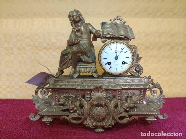 Relojes de carga manual: RELOJ DE SOBREMESA DE ESTILO FRANCÉS SIGLO XIX, 6000-173 - Foto 8 - 45678485