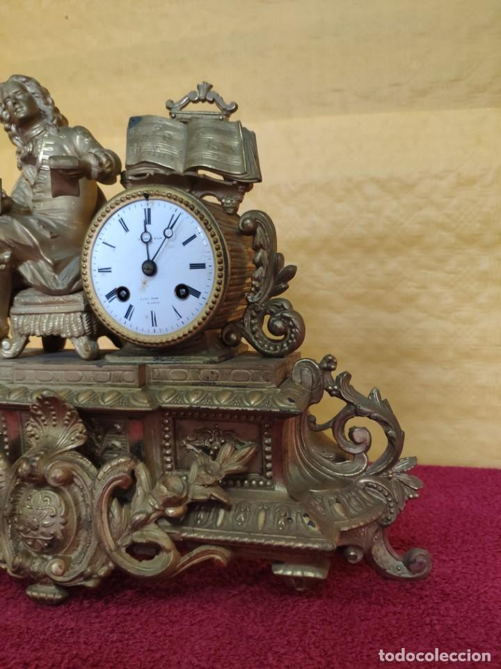 Relojes de carga manual: RELOJ DE SOBREMESA DE ESTILO FRANCÉS SIGLO XIX, 6000-173 - Foto 11 - 45678485