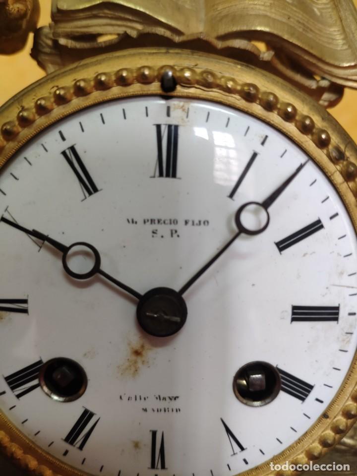 Relojes de carga manual: RELOJ DE SOBREMESA DE ESTILO FRANCÉS SIGLO XIX, 6000-173 - Foto 13 - 45678485