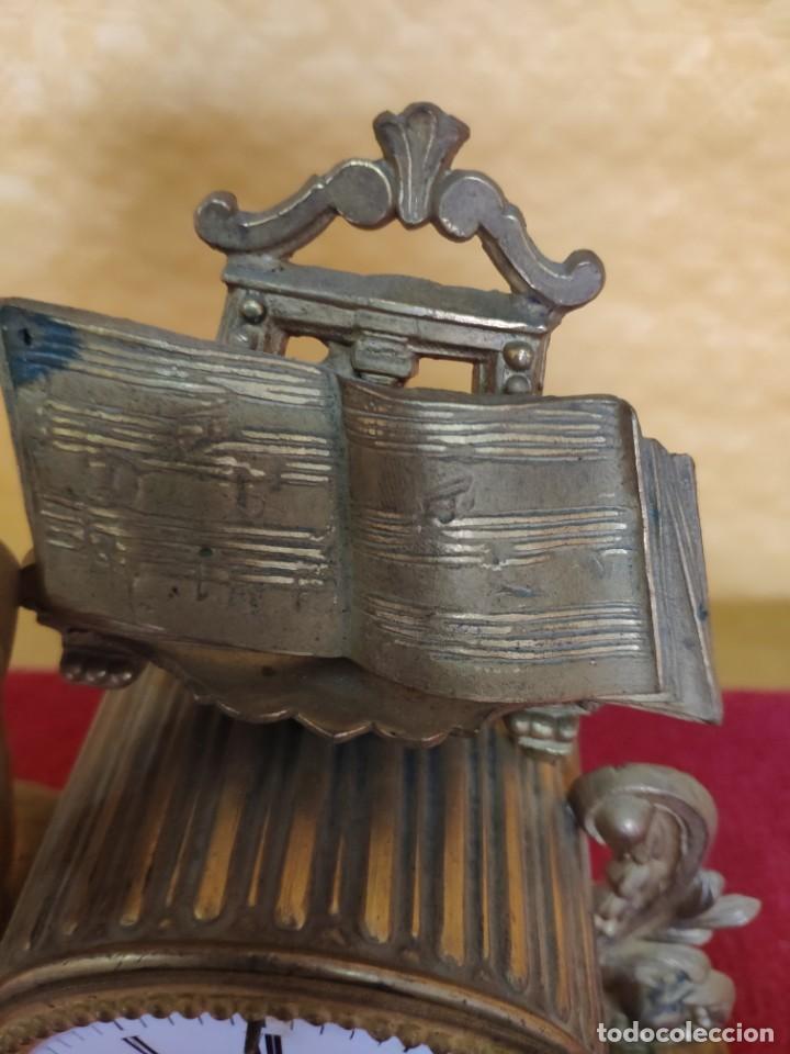 Relojes de carga manual: RELOJ DE SOBREMESA DE ESTILO FRANCÉS SIGLO XIX, 6000-173 - Foto 14 - 45678485