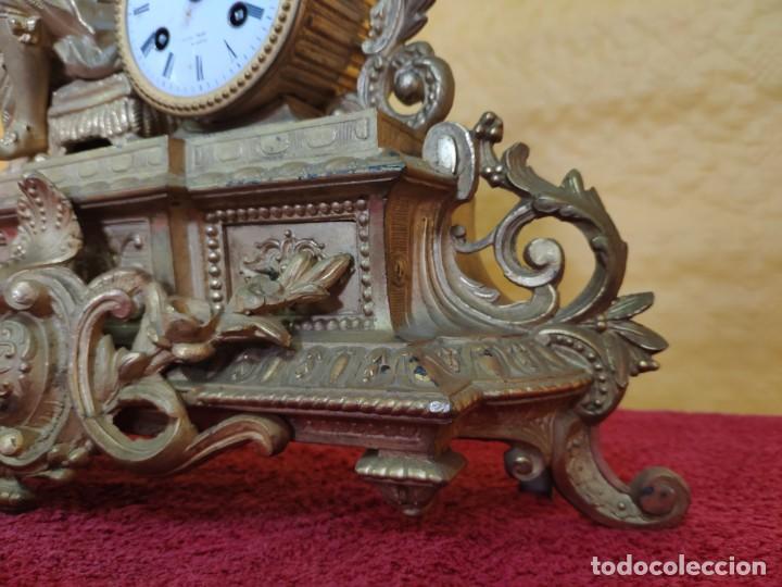 Relojes de carga manual: RELOJ DE SOBREMESA DE ESTILO FRANCÉS SIGLO XIX, 6000-173 - Foto 17 - 45678485