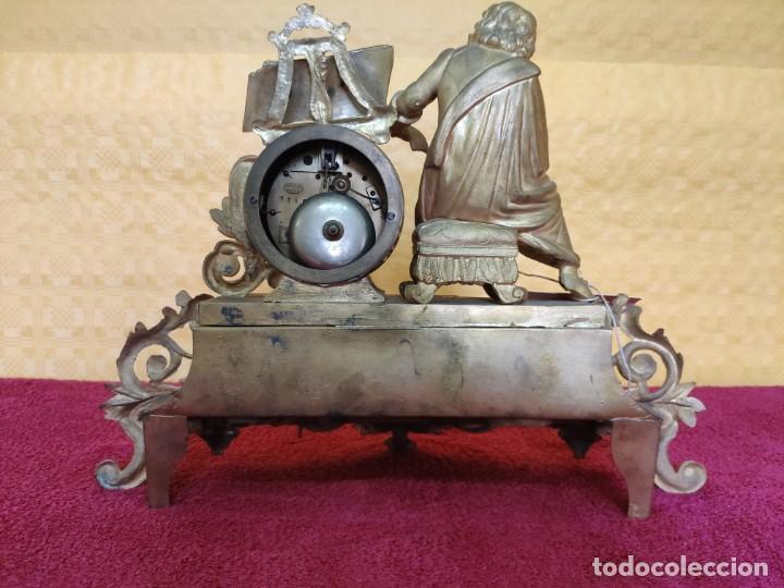 Relojes de carga manual: RELOJ DE SOBREMESA DE ESTILO FRANCÉS SIGLO XIX, 6000-173 - Foto 20 - 45678485