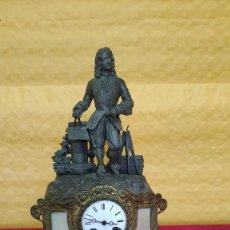 Relojes de carga manual: RELOJ DE SOBREMESA DE ESTILO FRANCÉS SIGLO XIX , 6000-171. Lote 43450236