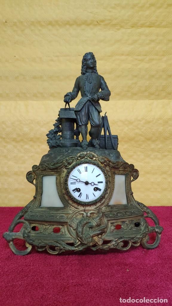 Relojes de carga manual: RELOJ DE SOBREMESA DE ESTILO FRANCÉS SIGLO XIX , 6000-171 - Foto 2 - 43450236