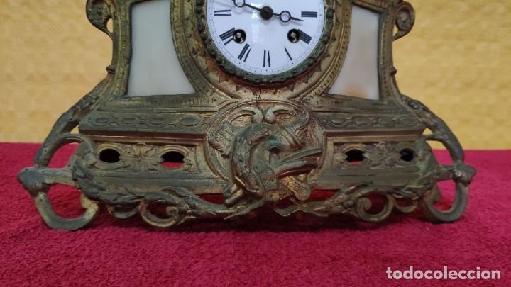 Relojes de carga manual: RELOJ DE SOBREMESA DE ESTILO FRANCÉS SIGLO XIX , 6000-171 - Foto 3 - 43450236