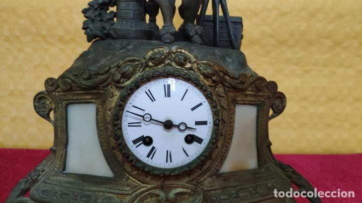 Relojes de carga manual: RELOJ DE SOBREMESA DE ESTILO FRANCÉS SIGLO XIX , 6000-171 - Foto 4 - 43450236