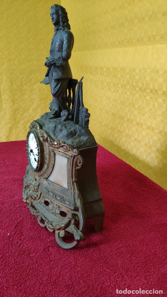 Relojes de carga manual: RELOJ DE SOBREMESA DE ESTILO FRANCÉS SIGLO XIX , 6000-171 - Foto 13 - 43450236