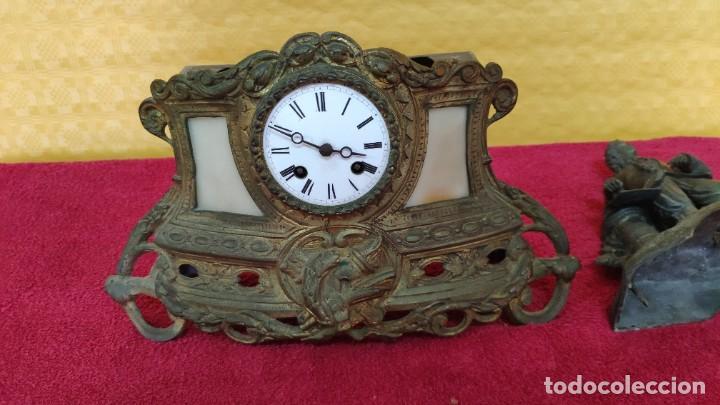 Relojes de carga manual: RELOJ DE SOBREMESA DE ESTILO FRANCÉS SIGLO XIX , 6000-171 - Foto 21 - 43450236