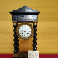 Relojes de carga manual: RELOJ DE PÓRTICO DE SOBREMESA ESTILO NAPOLEÓN III, 6000-154. Lote 43451948