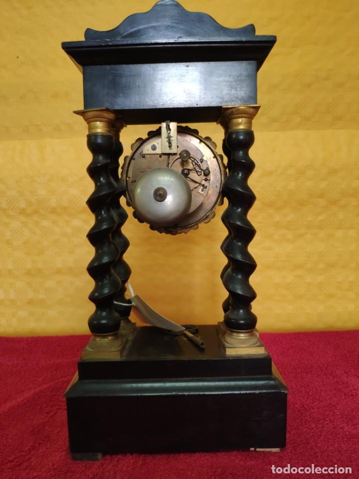 Relojes de carga manual: RELOJ DE PÓRTICO DE SOBREMESA ESTILO NAPOLEÓN III, 6000-154 - Foto 10 - 43451948