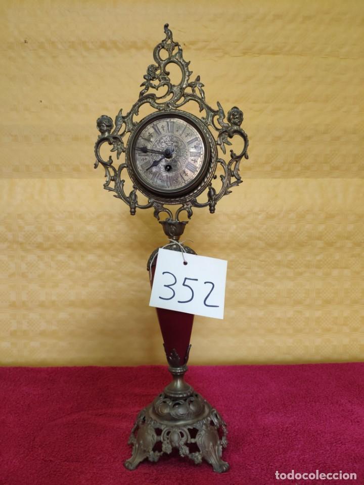 RELOJ DE SOBREMESA CARGA MANUAL SIGLO XX, 6000-352 (Relojes - Sobremesa Carga Manual)