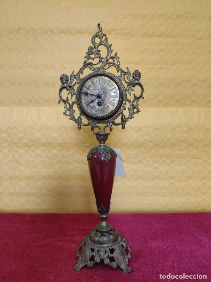 Relojes de carga manual: RELOJ DE SOBREMESA CARGA MANUAL SIGLO XX, 6000-352 - Foto 2 - 43844551