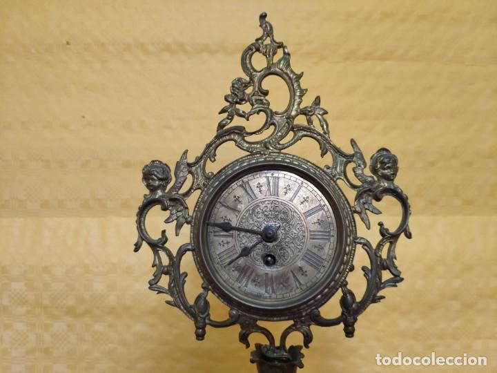 Relojes de carga manual: RELOJ DE SOBREMESA CARGA MANUAL SIGLO XX, 6000-352 - Foto 6 - 43844551