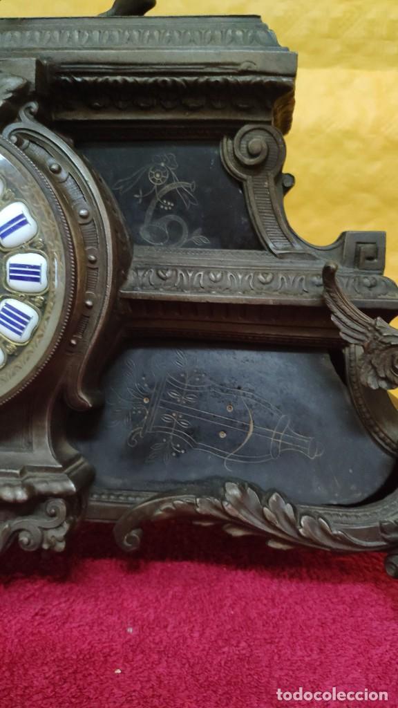 Relojes de carga manual: RELOJ DE SOBREMESA ESTILO IMPERIO SIGLO XIX, 6000-670 - Foto 6 - 45759697