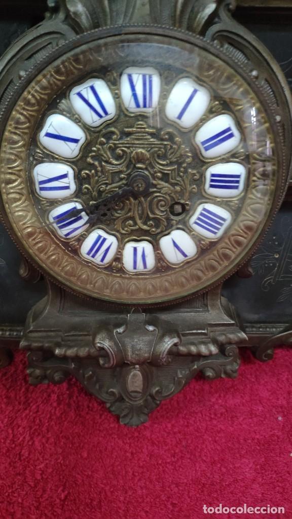 Relojes de carga manual: RELOJ DE SOBREMESA ESTILO IMPERIO SIGLO XIX, 6000-670 - Foto 7 - 45759697