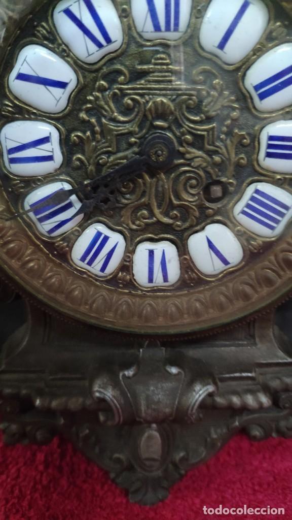 Relojes de carga manual: RELOJ DE SOBREMESA ESTILO IMPERIO SIGLO XIX, 6000-670 - Foto 8 - 45759697