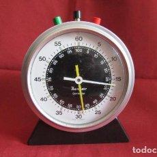 Relojes de carga manual: ANTIGUO Y CURIOSO GRAN CRONÓMETRO DE MESA MECÁNICO ALEMÁN FABRICADO EN LOS AÑOS 50 O 60 Y FUNCIONA. Lote 217989511