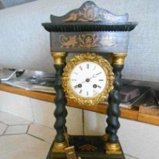 Relojes de carga manual: ¡¡GRAN OFERTA !!ANTIGUO RELOJ PORTICO-IMPERIO-AÑO 1870-PARA RESTAURAR- LOTE 315. Lote 218441313