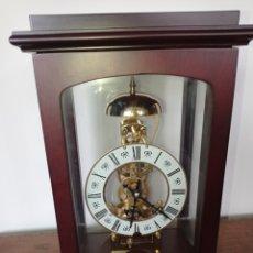 Relojes de carga manual: HERMOSO ESQUELETO RELOJ DE SOBREMESA. Lote 218719453