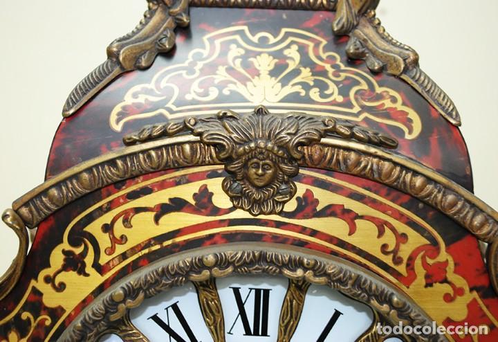 Relojes de carga manual: RELOJ ANTIGUO DE MESA ESTILO NAPOLEÓN III - Foto 5 - 218773977