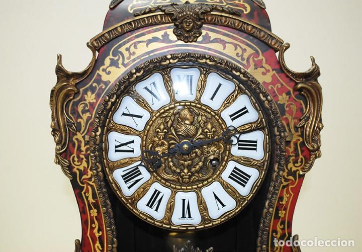 Relojes de carga manual: RELOJ ANTIGUO DE MESA ESTILO NAPOLEÓN III - Foto 6 - 218773977
