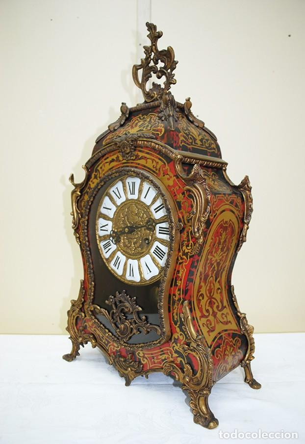 Relojes de carga manual: RELOJ ANTIGUO DE MESA ESTILO NAPOLEÓN III - Foto 10 - 218773977
